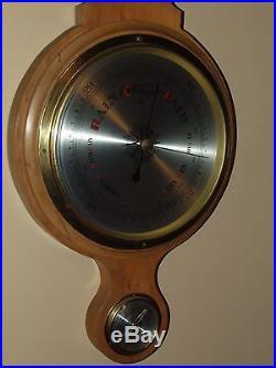 Vintage 35 German Weather Station Wall Barometer