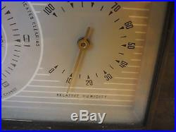 Vintage Airguide Instruments Co Barometer temperature humidity weather station