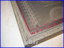 Vintage/Antique WEATHER FORECAST Weather Guide Co Chicago