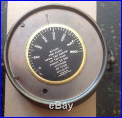 Vintage Barometer Stormguide Compensated for Tempature TYCOS made in USA
