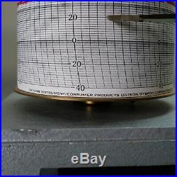 Vintage Central Scientific Co. Stormograph Recording Barometer
