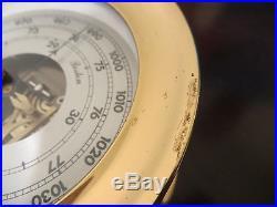 Vintage Chelsea Barometer Boston Series