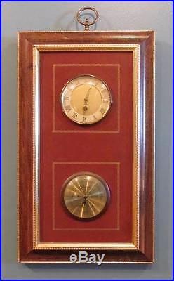 Vintage German 8 Day Wall Clock/Barometer by Endura