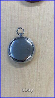 Vintage Lufft No. 62478 Compens Pocket Barometer Altimeter Original Case Germany