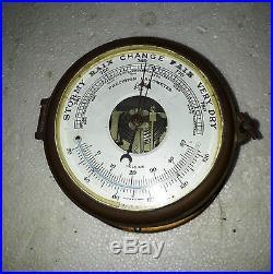 Vintage Marine Precision Barometer