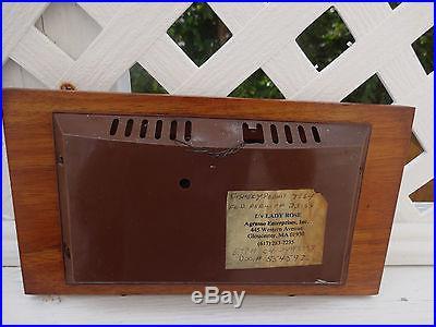 Vintage Mid Century Airguide Barometer Weather Station