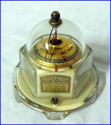 Vintage Mova Art Deco Moorish Persian Barometer