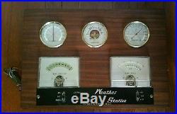 Vintage Ota Keiki Seisakusho Japan Nautical Marine Boat Ship Weather Station