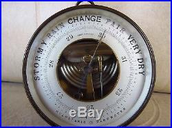 Vintage PHBN Holosteric Barometer and Thermometer