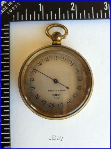 Vintage Pocket Barometer