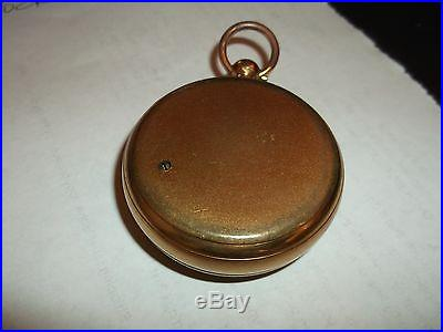 Vintage Pocket Barometer, Short & Mason London Tycos