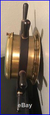 Vintage Schatz Germany Holosteric Compensated Barometer Thermostat Ship/Marine