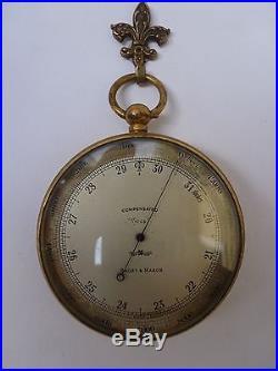 Vintage Short & Mason Compensated Tycos Pocket Barometer