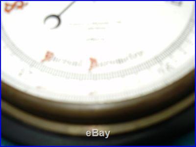 Vintage Short & Mason London Barometer ANERIOD