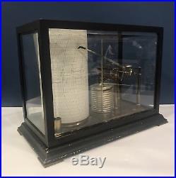 Vintage Short & Mason Tycos Micro-barograph London England C. 1910 Barometer