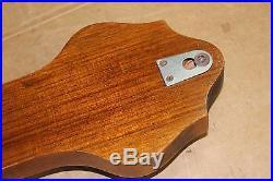 Vintage T. A. Reynolds, London walnut 23 Banjo Barometer -Birks, Ellis & Ryrie-
