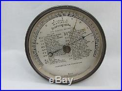 Vintage Tycos Stormguide Simplified Barometer Pat. 1914