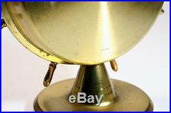 Vintage Unusual Weatherite German Zodiac Ships Wheel Barometer Germany 1930's