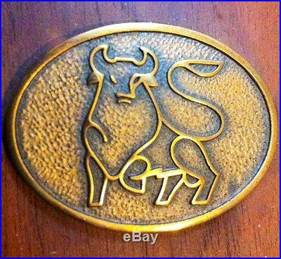 Vintage Wall hang wood brass Barometer-Temperature Barigo Jenstons Bull