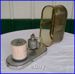 Vintge German Barometer Recovered From Ship BIG SHIP SALVAGE USA