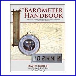 Weems & Plath The Barometer Handbook (by David Burch) 25122 Barometer NEW
